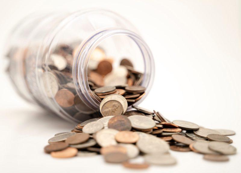 硬貨貯金のイメージ